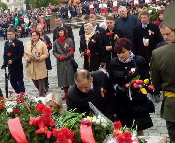 Участие в мероприятиях, посвященных Дню Победы в г. Могилеве, 2017 г.
