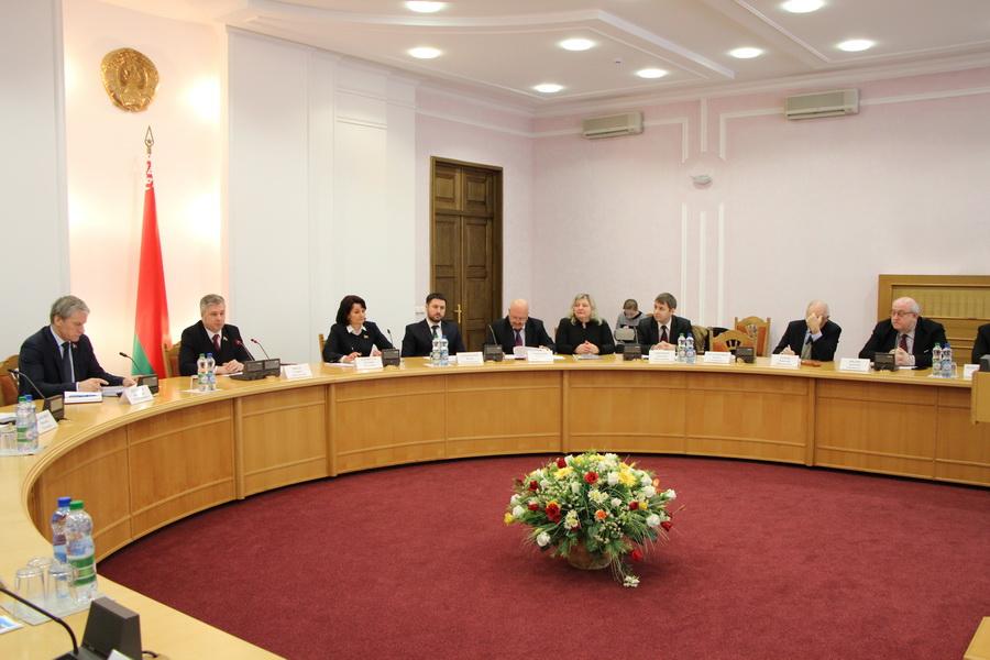 Круглый стол на тему «Использование природного потенциала Республики Беларусь в контексте развития возобновляемой энергетики», 2017 г.