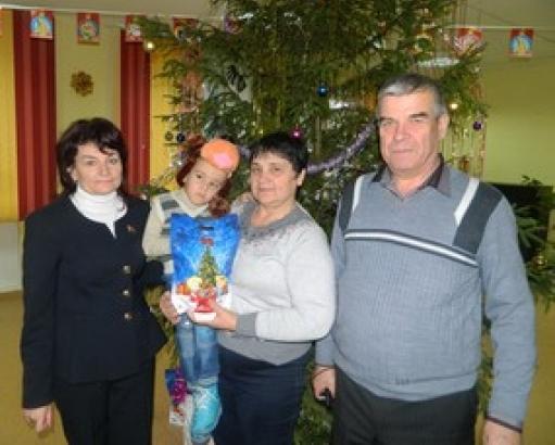 На новогодней елке в Центре корекционно-развивающего обучения, Быхов-2016