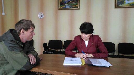 Приём граждан в Славгородском районе,2017 г