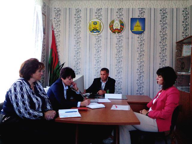 Приём граждан и прямая линия в Свенском сельсовете, Славгородский район, 2017