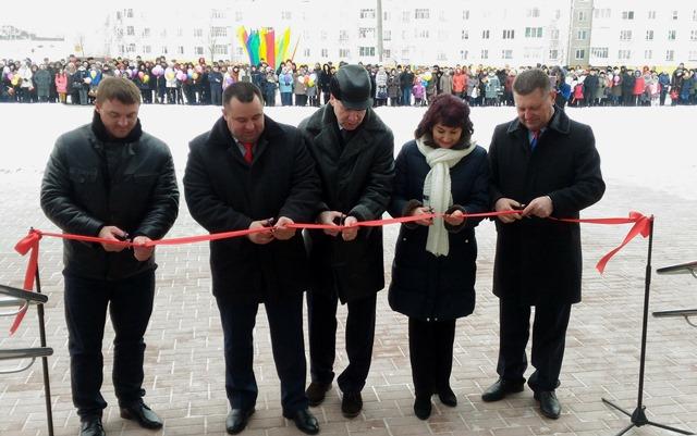 Открытие бассейна накануне 2017 года в г.Костюковичи