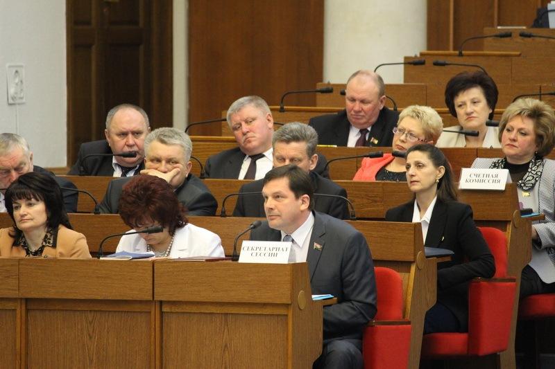 Заседание 7 сессии Палаты представителей Национального собрания Республики Беларусь